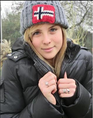 Hot Norway Girl in Jacket