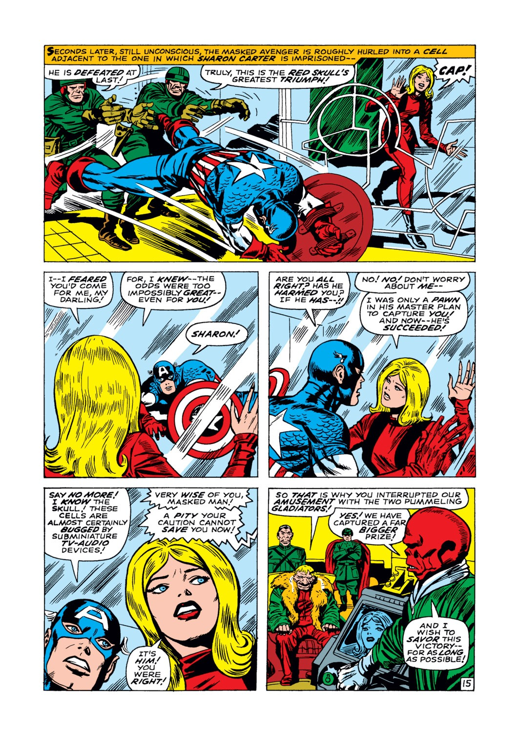 Captain America (1968) Issue #103 #17 - English 16