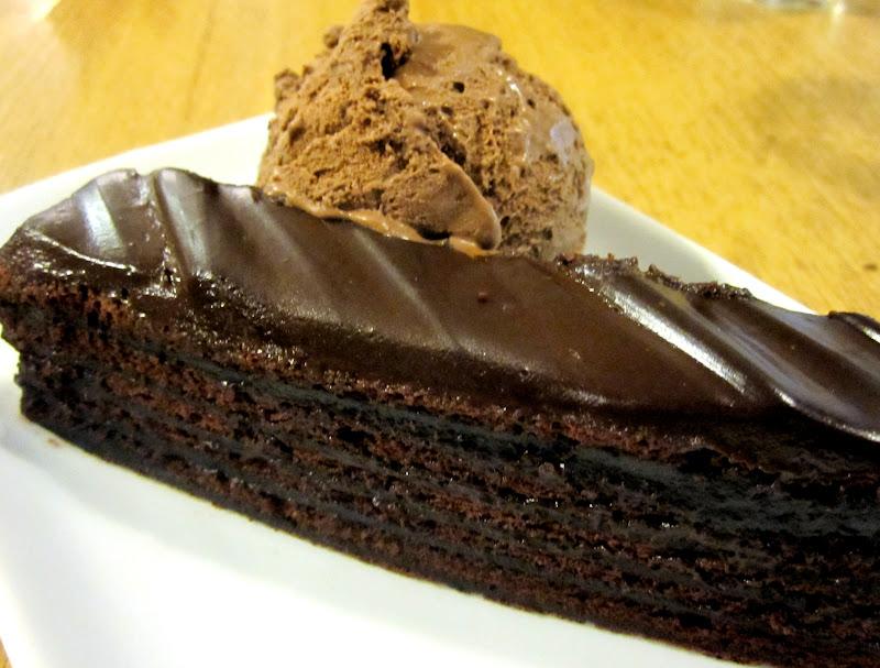 Awfully Chocolate Fudge Cake Recipe