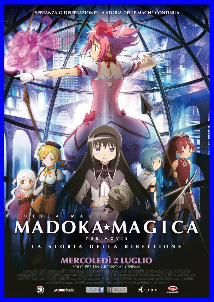 Madoca Magica The Movie - La Storia Della Ribellione (2013).mkv LD Mp3 1080p BluRay - iTA