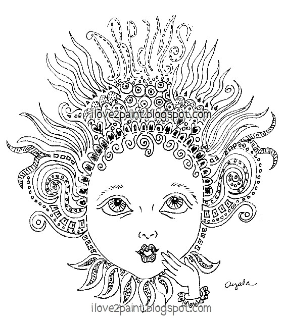 ayala art  image maker    zentangle