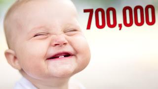 ขอบคุณพระเจ้าสำหรับยอดวิวทะลุ 700,000