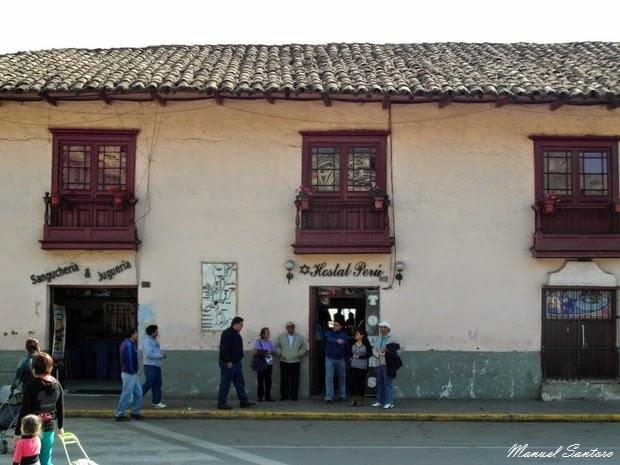 Cajamarca, Hostal Perù
