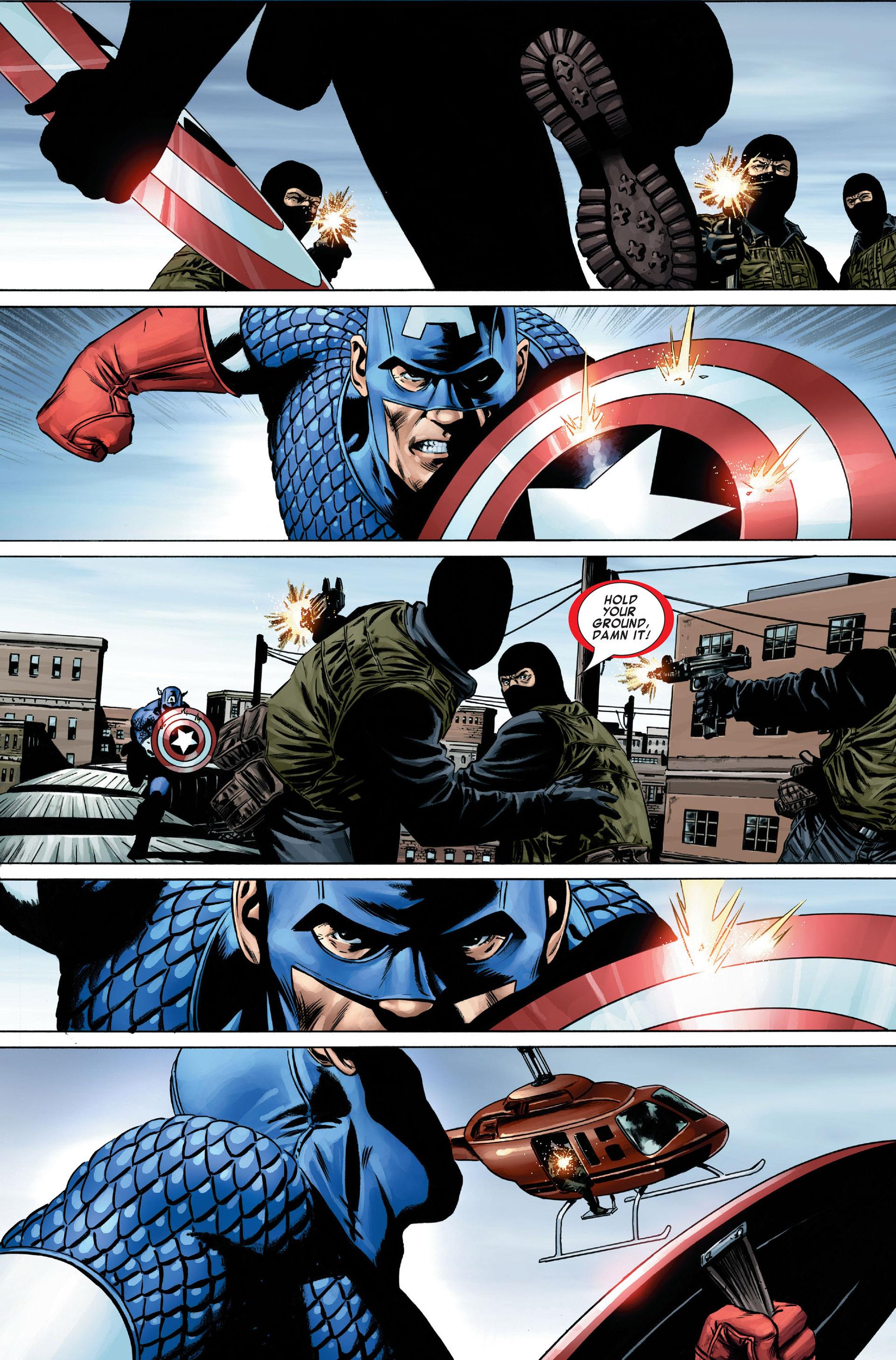 Captain America (2005) Issue #1 #1 - English 15