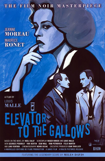 Elevator to the Gallows • Ascenseur pour l'échafaud (1958)