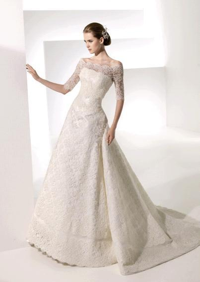 Wedding Dresses With Lace Sleeves Dublin 85