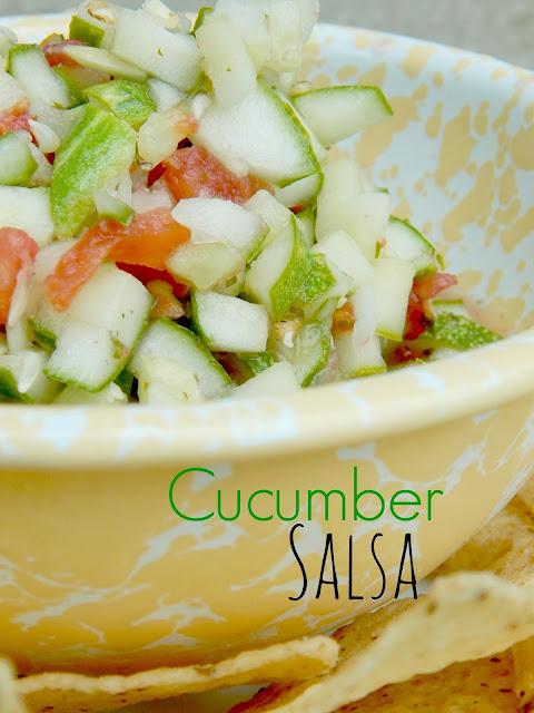 cucumber salsa (sweetandsavoryfood.com)