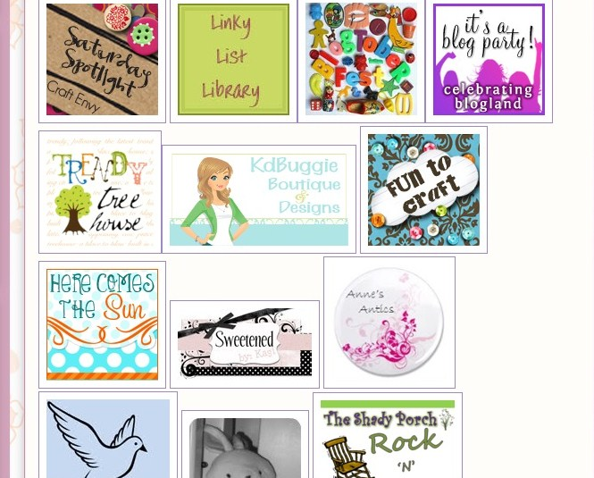 Click Here for Linky Parties