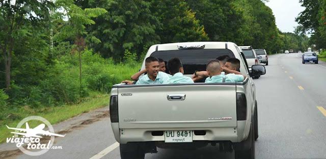 Tailandia transporte escolar