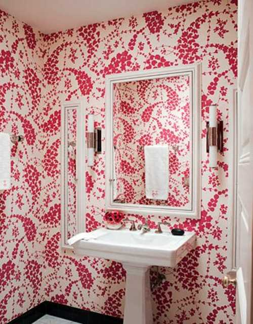 Papel para paredes en peque os espacios decorando mejor for Papel para decorar paredes de dormitorios