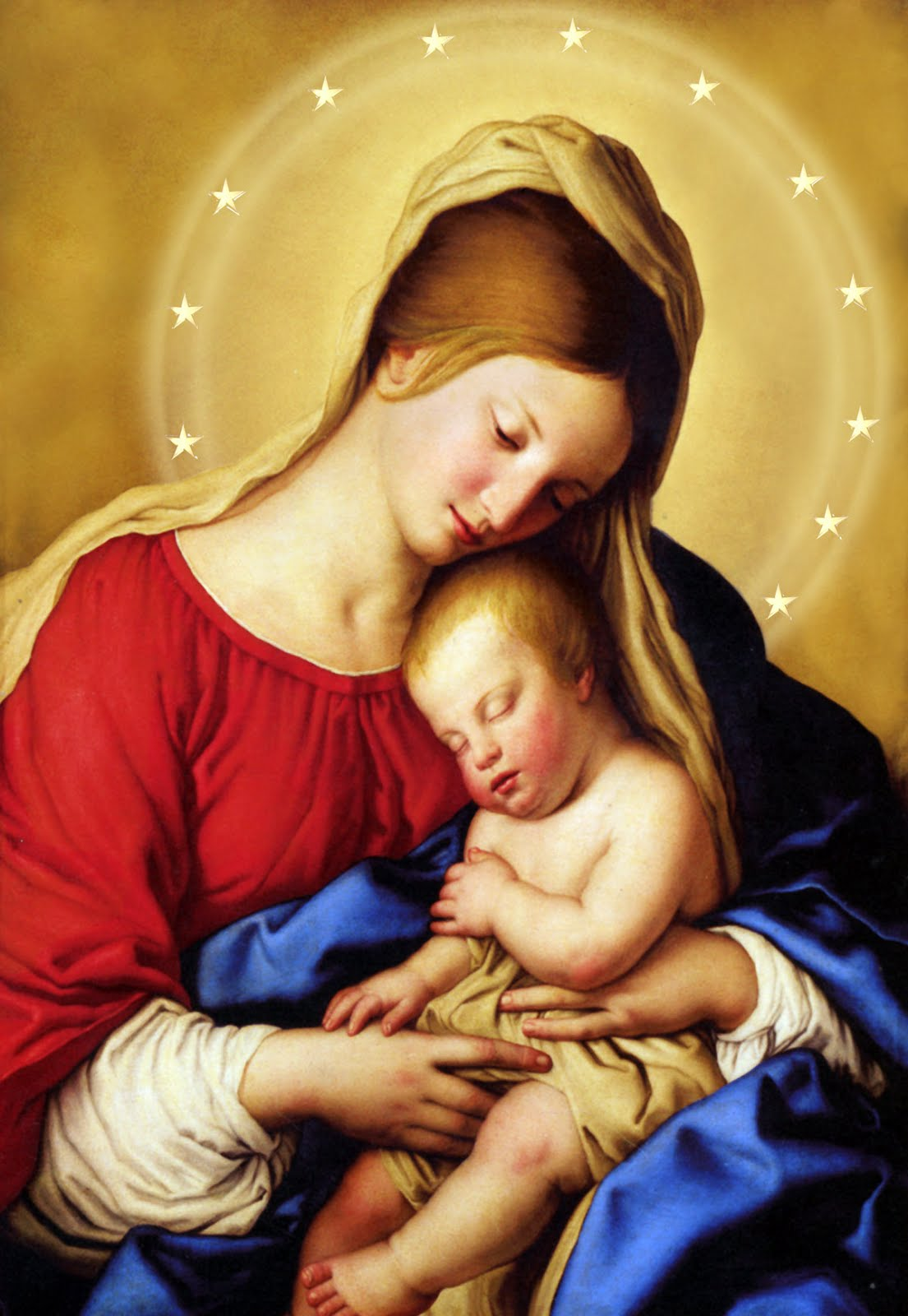 Blessed Mother Mary And Jesus Catholic Spirit...