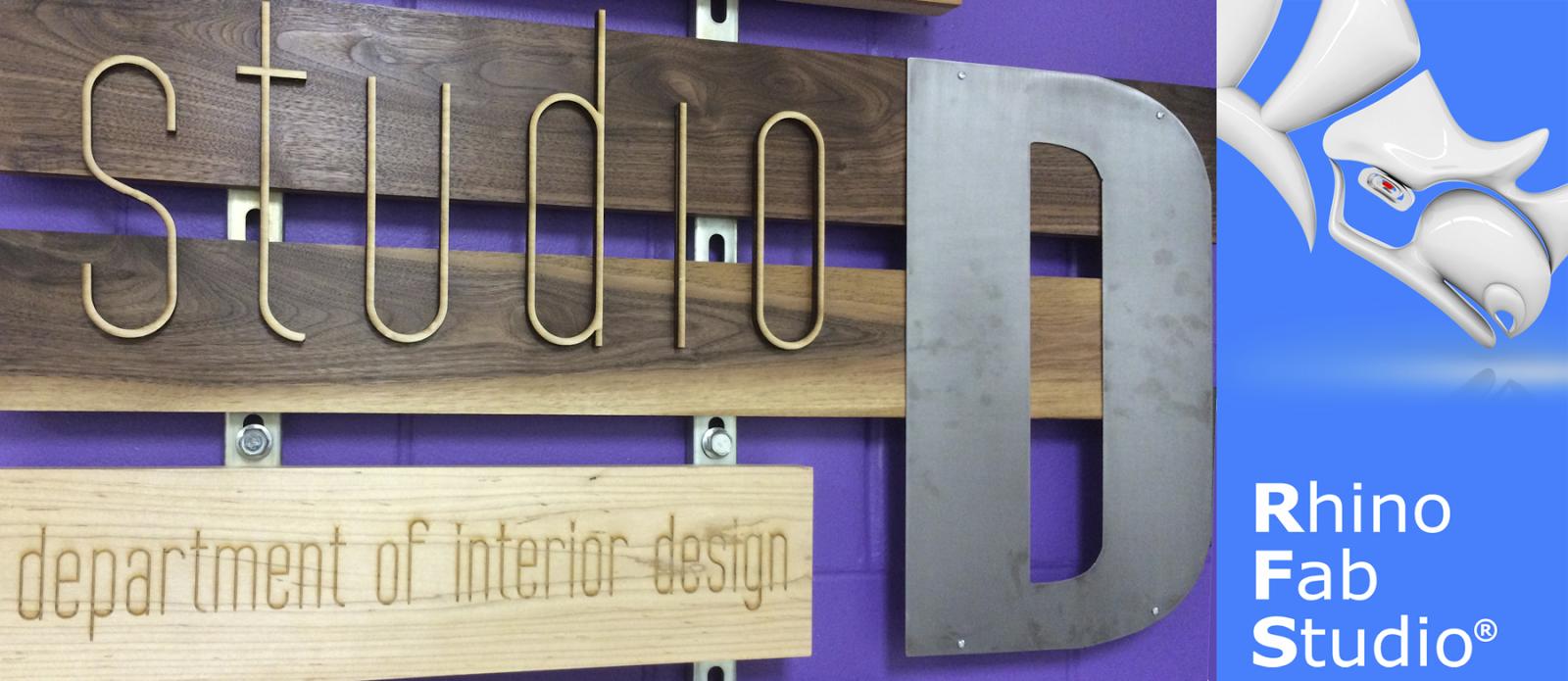 Studio D Design And Fabrication Lab Department Of Interior Design