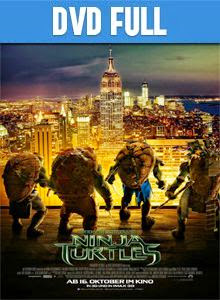 Teenage Mutant Ninja Turtles DVD Full Español Latino 2014