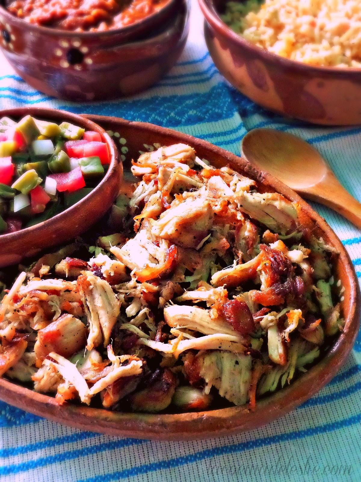 Homemade Pork Carnitas - lacocinadeleslie.com