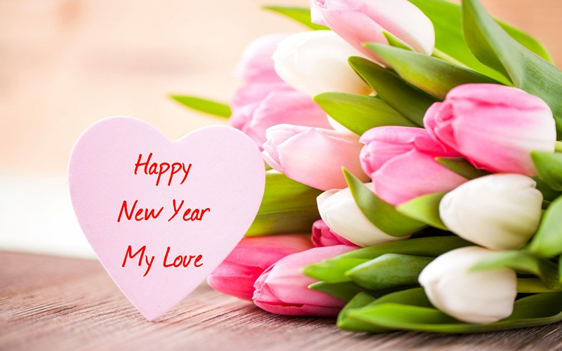 New Year Greeting for Lover