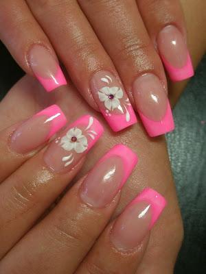colorful french nail art designs 2011  make up tips