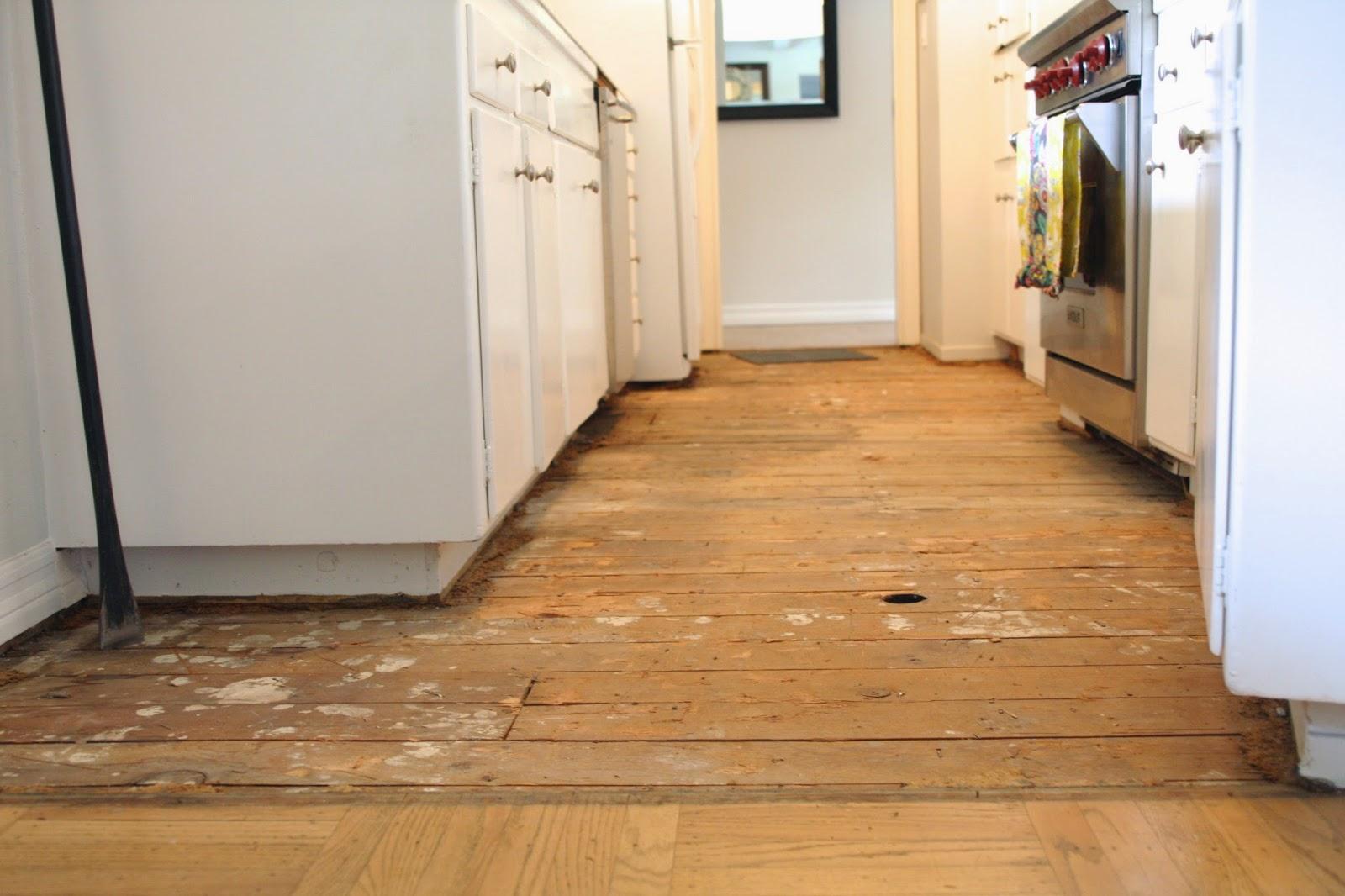 simply organized Simple DIY Temporary Kitchen Floors