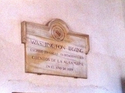 Alhambra: Habitaciones de Washington Irving