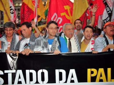Ato histórico em São Paulo pelo Estado da Palestina Já - foto 30
