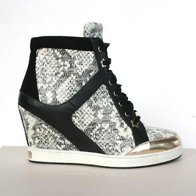 Jimmy Chooo wedge heel sneakers