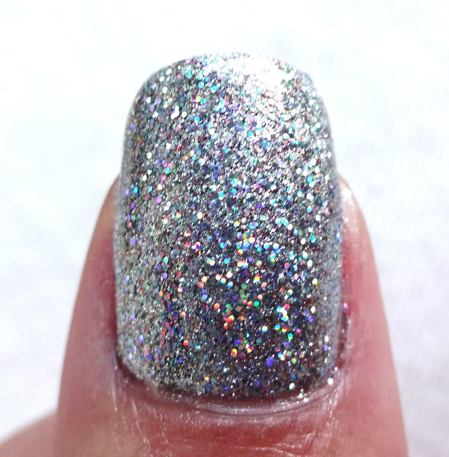 Glitter Thumb