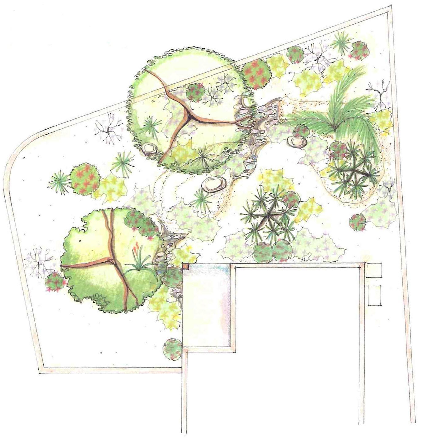Art design landscape landscape plan drawing inspiration for Landscape plan drawing