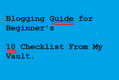 Beginner's-blogging-guide