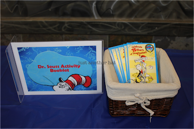 dr. seuss activity book and bookmark