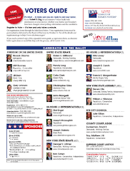 2012 VOTERS GUIDE in ENGLISH