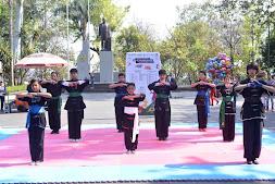Wushu, Karate y Taekwondo, en el Parque Juárez