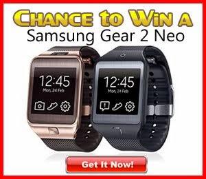 Free Samsung Gear 2