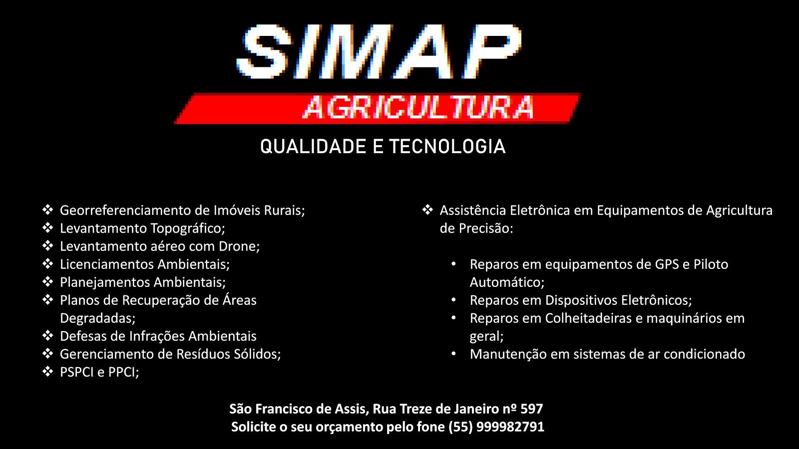 Tecnologia a disposição da Agricultura