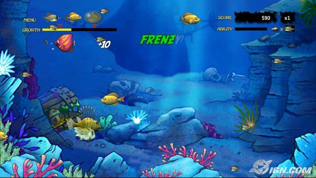 Free download free software download free games for Fish frenzy game