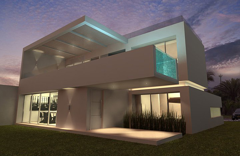 Modern Beach House In Peru With Overhang Pool Casa Playa