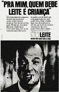 propaganda campanha educativa do leite - 1970