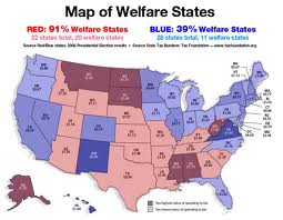 Erase The U S Deficit Expel The Red Welfare States From The Union Definitive Map And Statistics Included