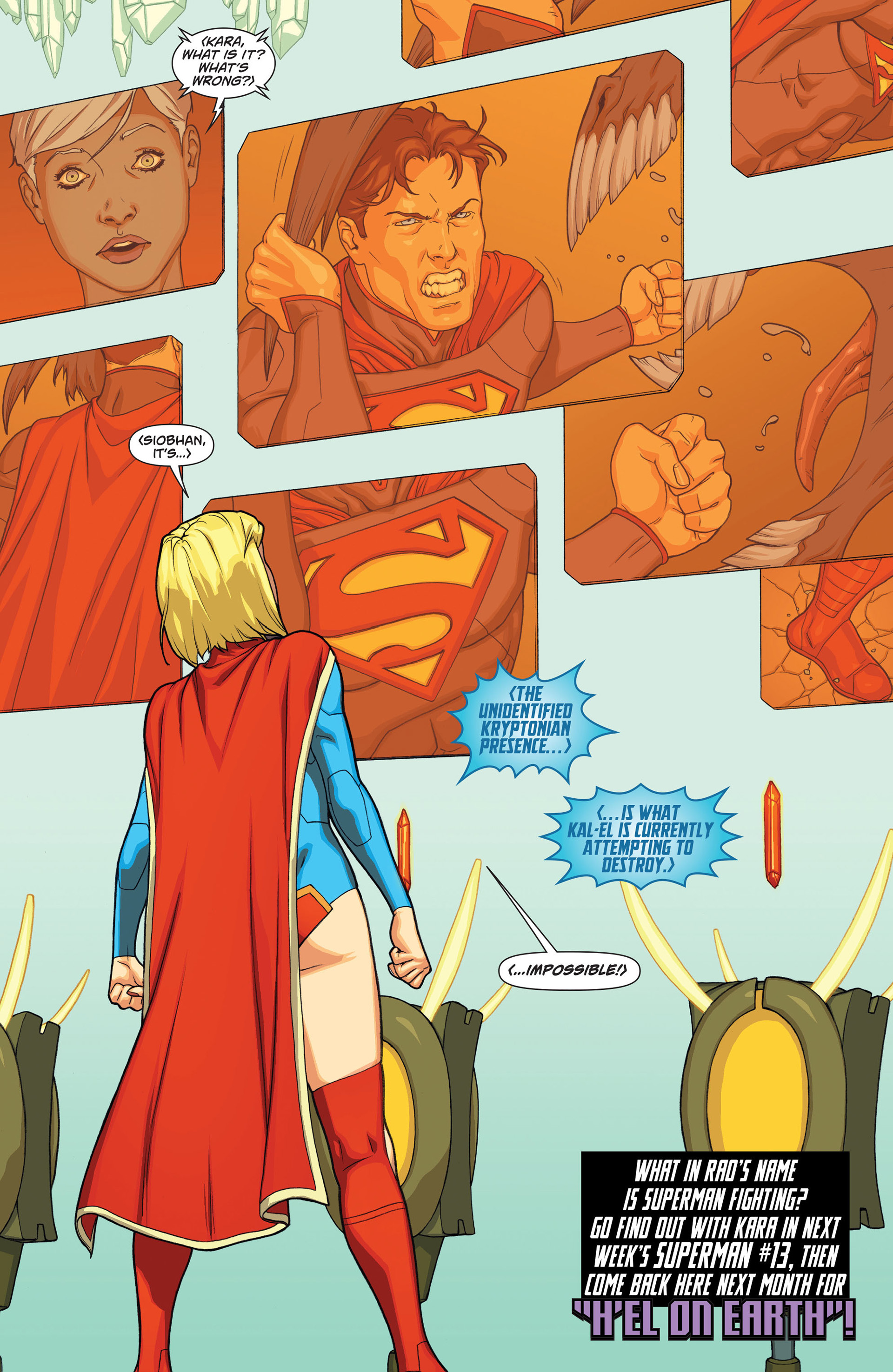 Supergirl (2011) Issue #13 #15 - English 21