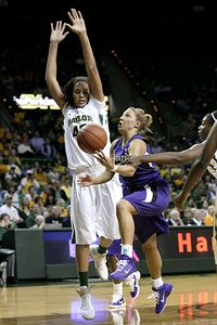Baylor's Top Seed Basket Ball Champion Brittney Griner In Action