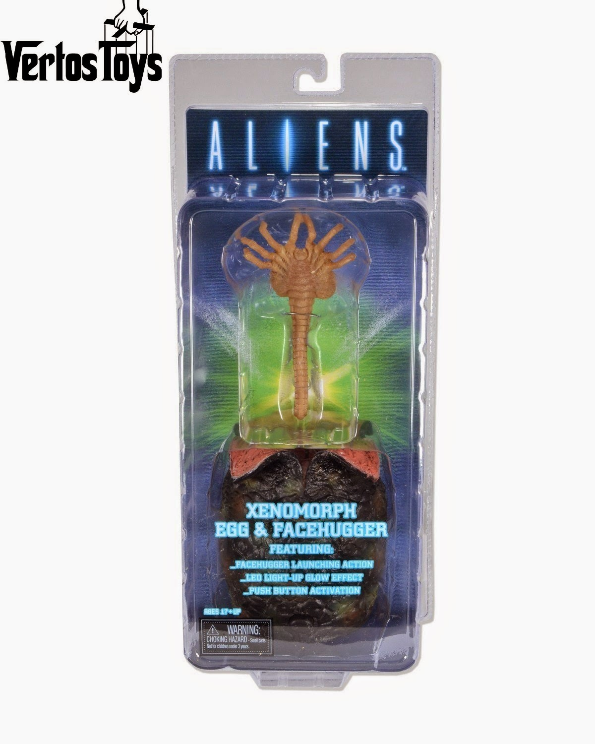 IN STOCK NECA Alien Facehugger and Egg approx 1/6 scale