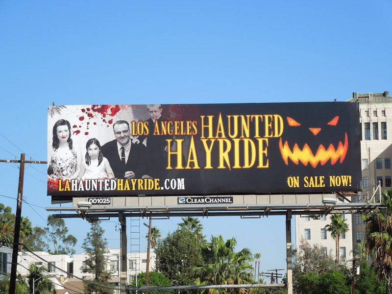 LA Haunted Hayride billboard 2012