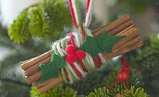 Adornos de Navidad con Materiales Naturales, Ideas Ecoresponsables