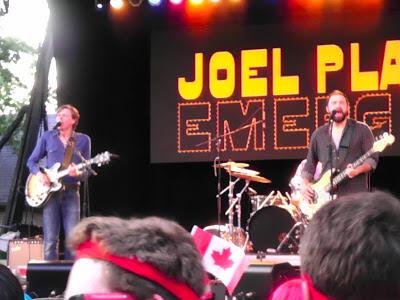The Joel Plaskett Emergency at SummerStage.