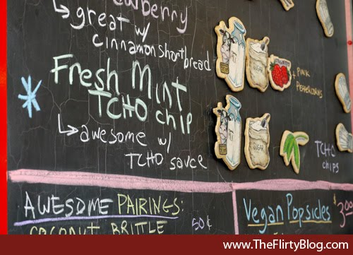 Smitten Ice Cream Menu I Found The Place Formerly The Flirty Blog San Francisco's