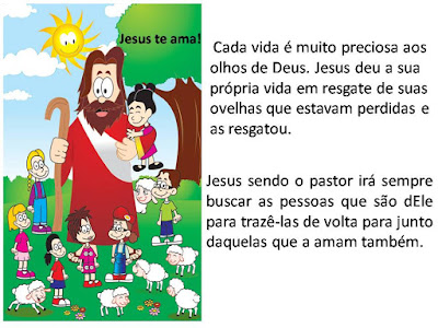 A ovelha perdida5 -amiguinhos de Jesus
