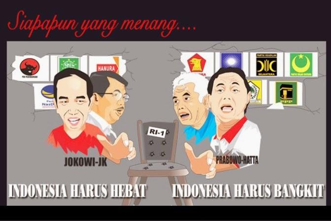 gambar capres dan cawapres indonesia