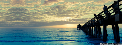 Beach Sunset Facebook Covers