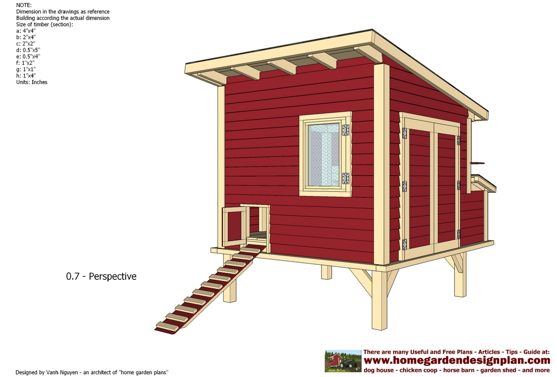 Home garden plans l300 chicken coop plans construction for Free coop plans