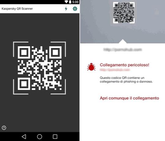 App Kaspersky QR Scanner