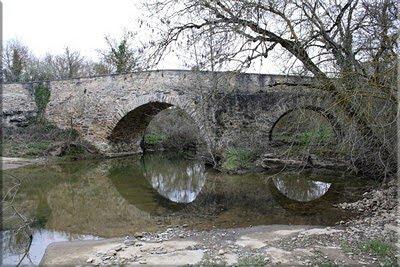 Puente sobre el río Zaia
