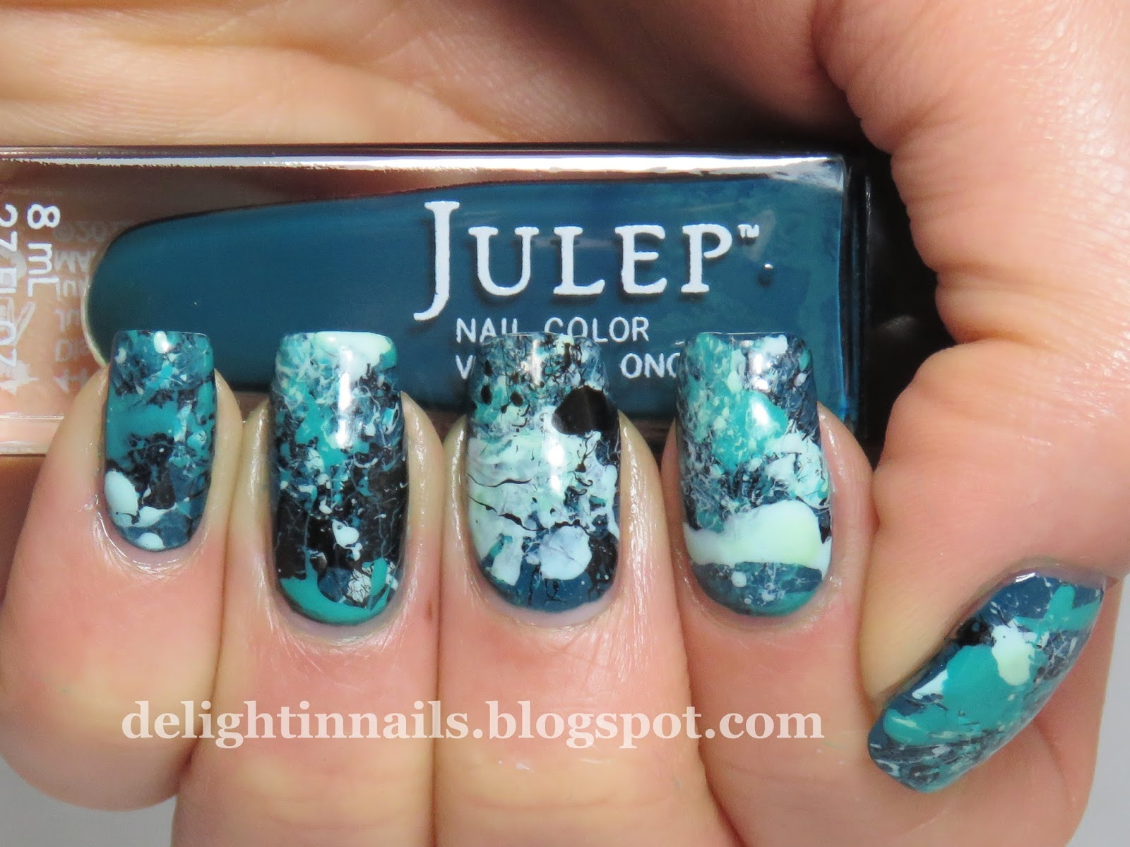 Delight In Nails 40 Great Nail Art Ideas Teal